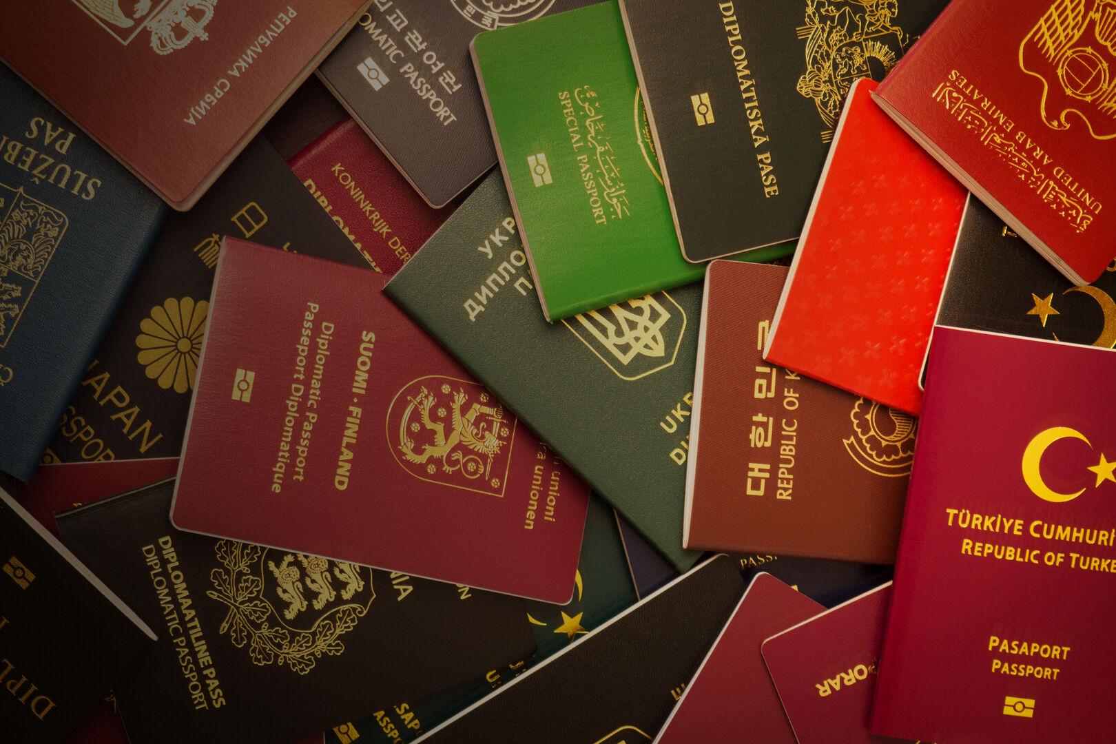 Ban copy of passport
