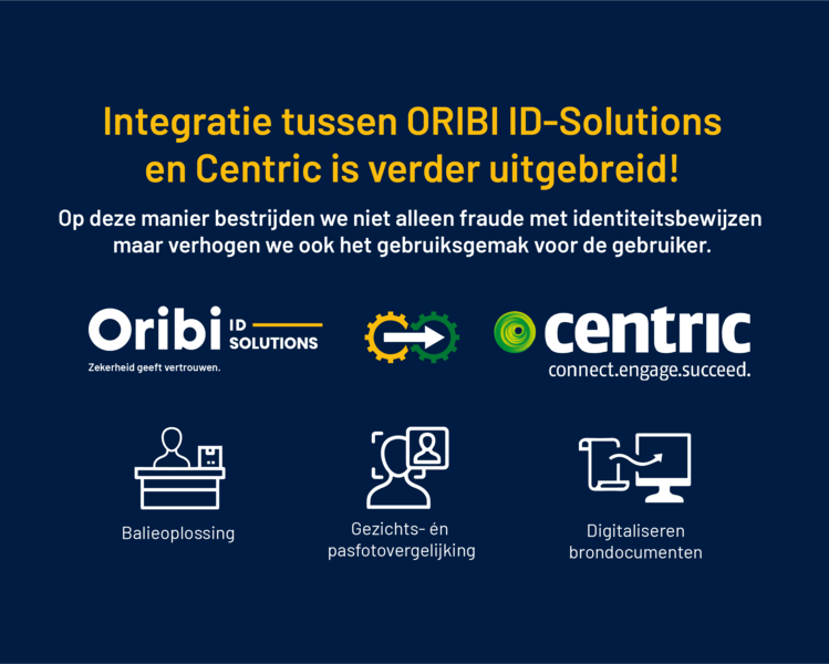 Centric and ORIBI ID-Solutions are expanding!