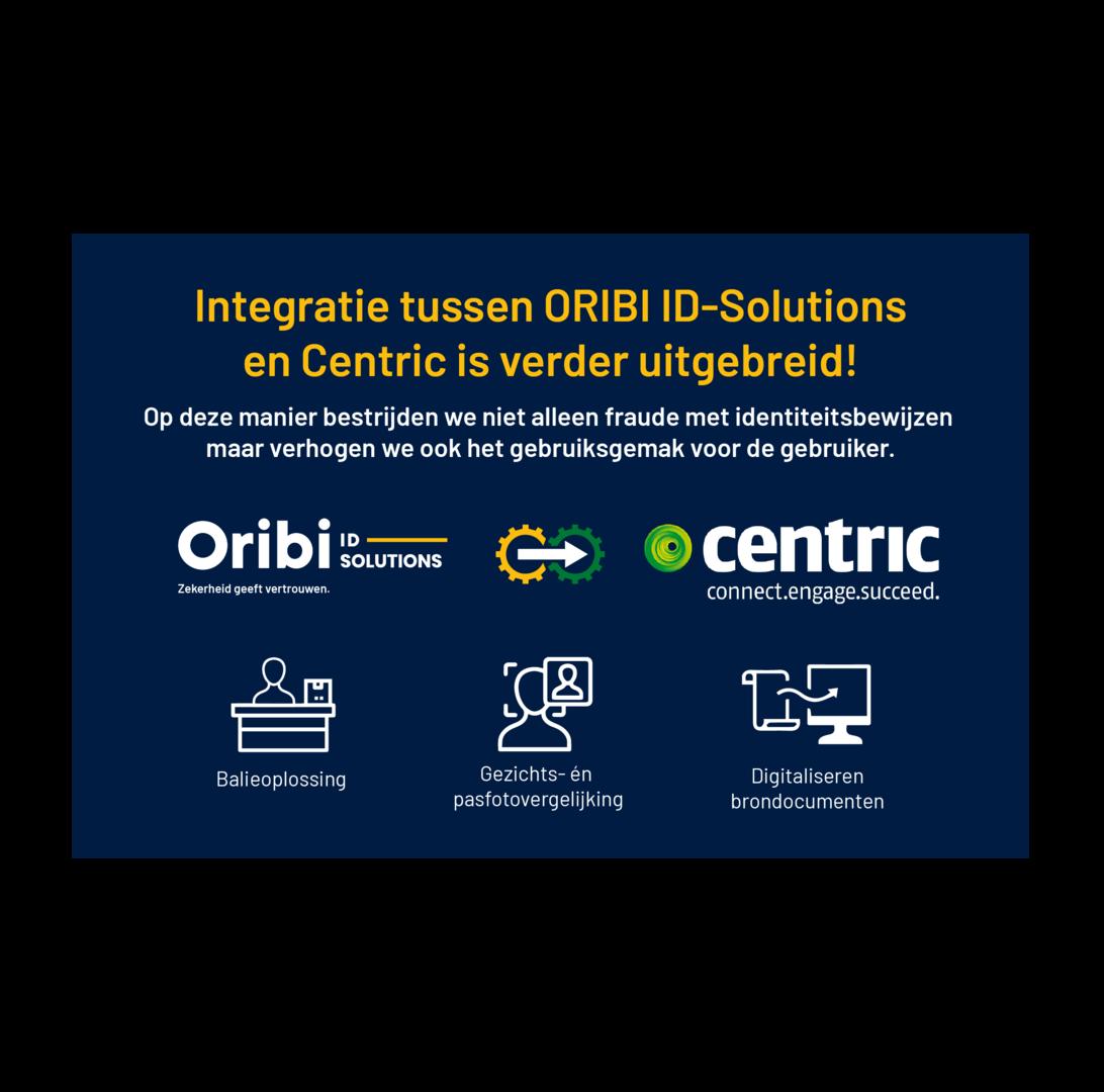 Centric en ORIBI ID-Solutions gaan uitbreiden!