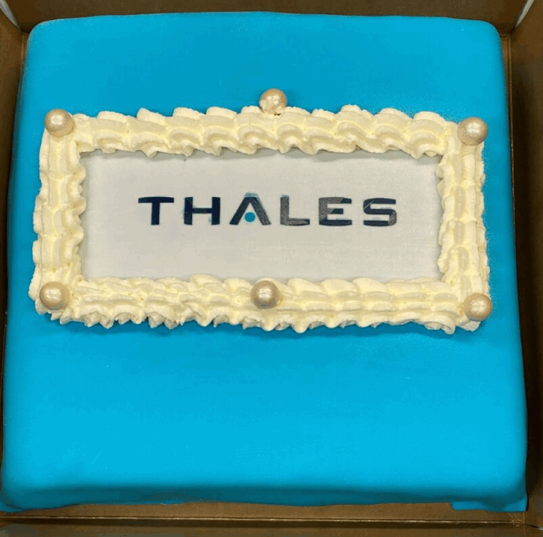 Congratulations from Thales